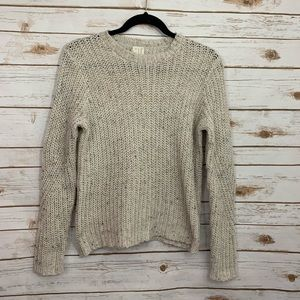 A New Day Cable Knit Speckled Bulky Sweater